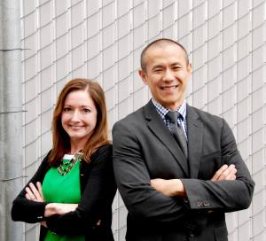 Stephanie Trollen, legal services supervisor for King County PAO Juvenile Unit; and Jimmy Hung, senior deputy prosecutor and chair of the PAO juvenile unit