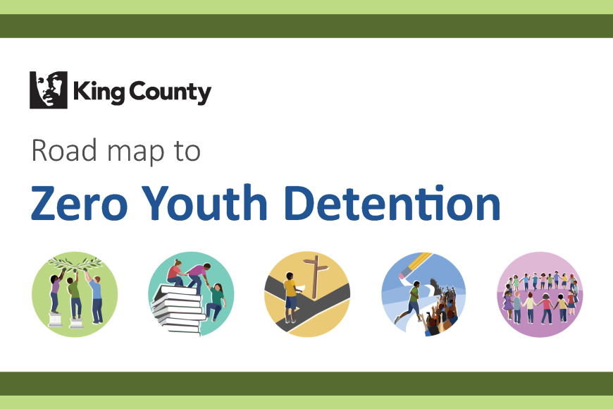 Road Map King County Zero Youth Detention logo
