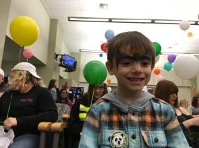 Image of kids at the National Adoption Month celebration